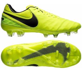 new product 7e35e ed96e Botin Nike Tiempo Legend Vi Futbol Profesional Verde Elec