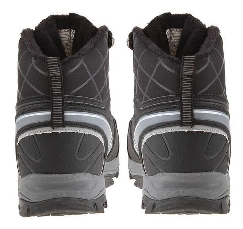 botín outdooor waterproof black/gray 3fb1019 (39 al 44) lag