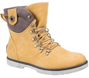 2b08163b Walmart Mexico Botas Botines Flexi - Zapatos de Mujer Amarillo en ...