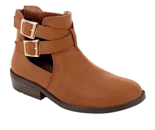 zapatos deportivos 95c22 5effe Botin Para Niña Tropicana Color Tan Modelo 80010