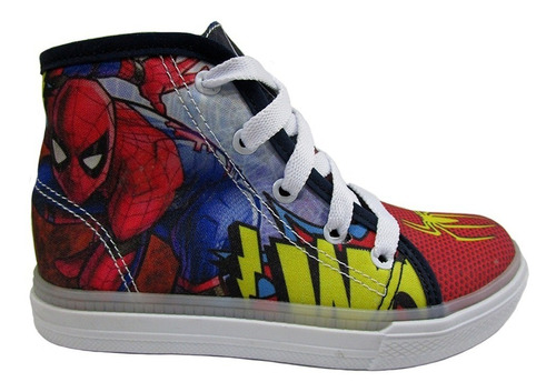 botín para niño spiderman