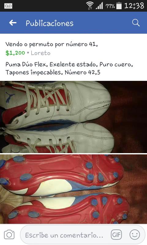 ecc8bf6a Botin Puma Duo Flex Numero 42. Usado Muy Poco Uso. - $ 1.200,00 en ...