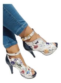 ffa6f73c Botines Con Tacon Blancos Charol - Zapatos en Mercado Libre Colombia
