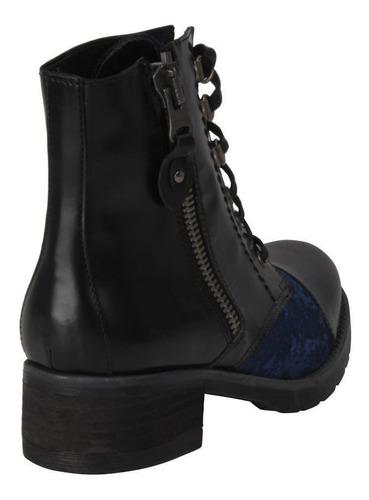 botin zappa mujer negro - x434