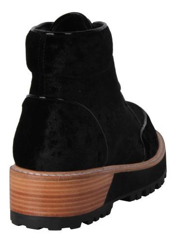 botin zappa mujer negro - x450