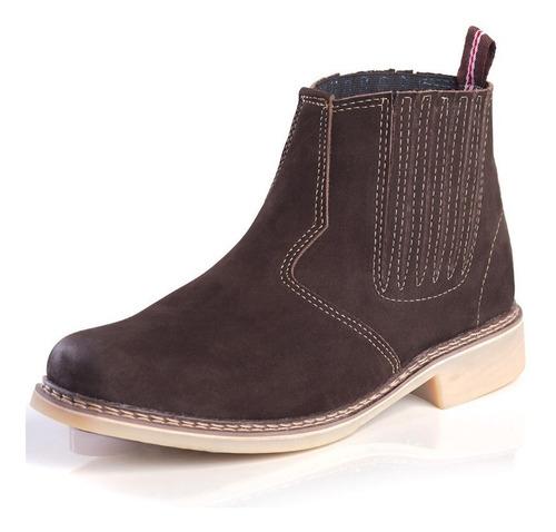 botina bota country 100% couro bc-03 bota masculina country