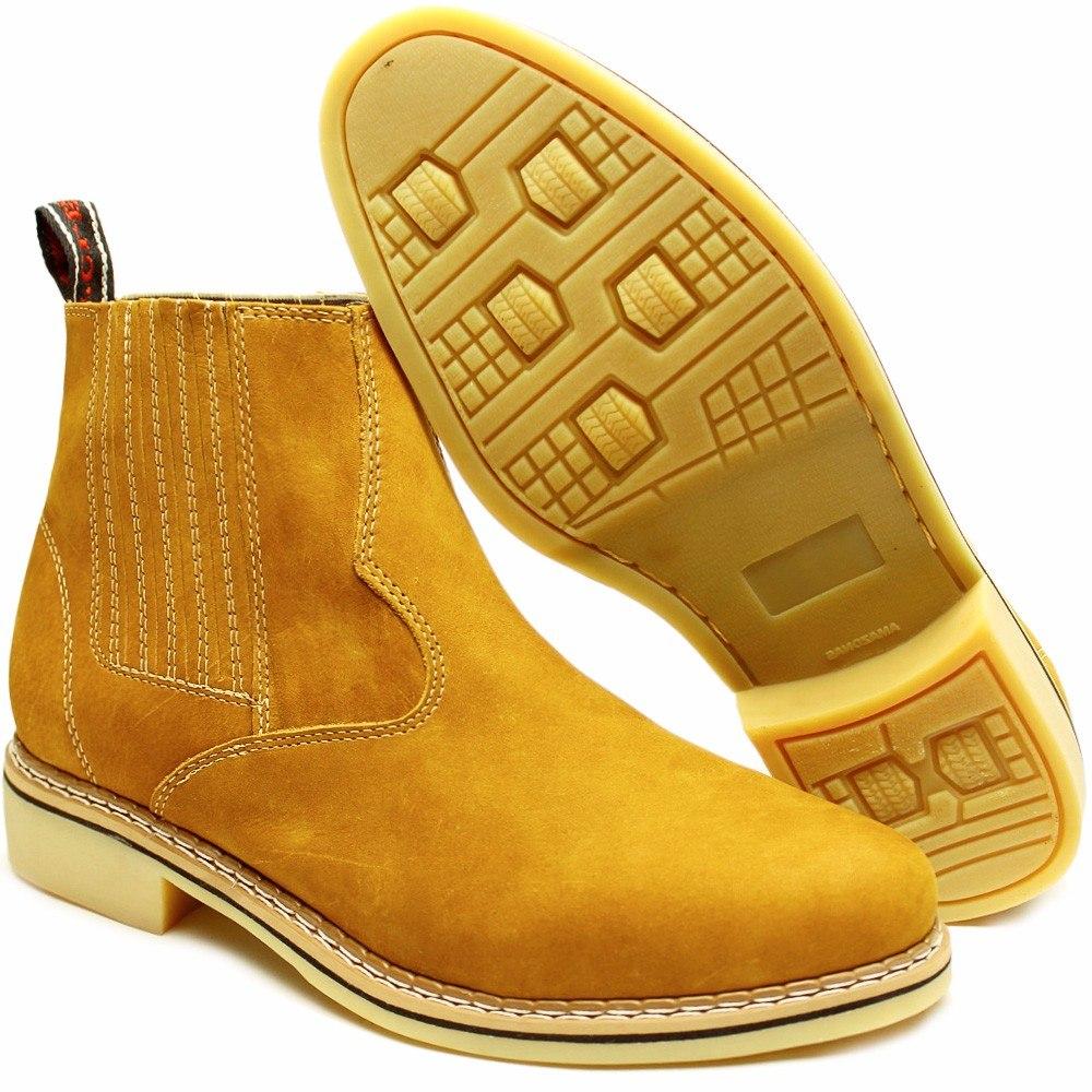 botina bota country de couro nobre masculina barata. Carregando zoom. 583bb959611
