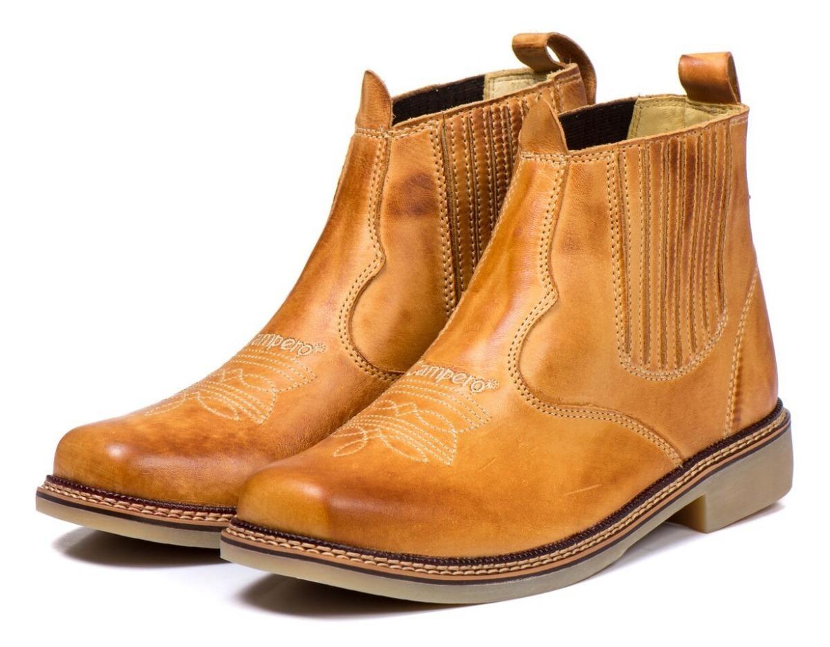 botina bota country masculina rodeio 100% couro legitimo. Carregando zoom. 9600eb966e4