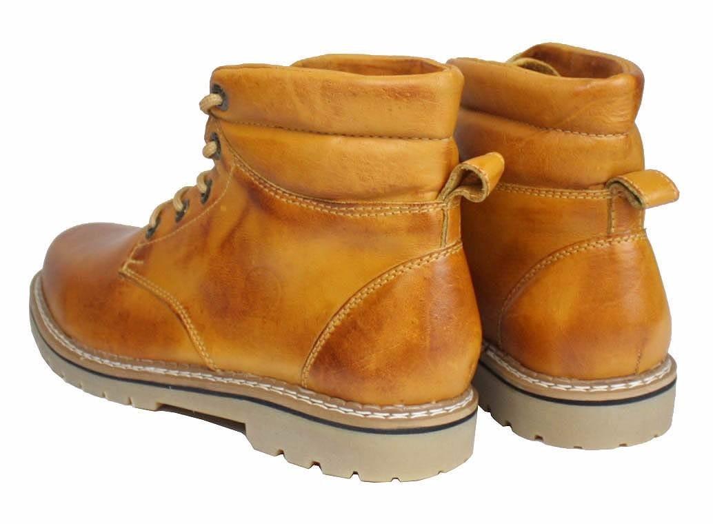 1274352da5 botina bota em couro legítimo costura reforçada kit 2 pares. Carregando  zoom.