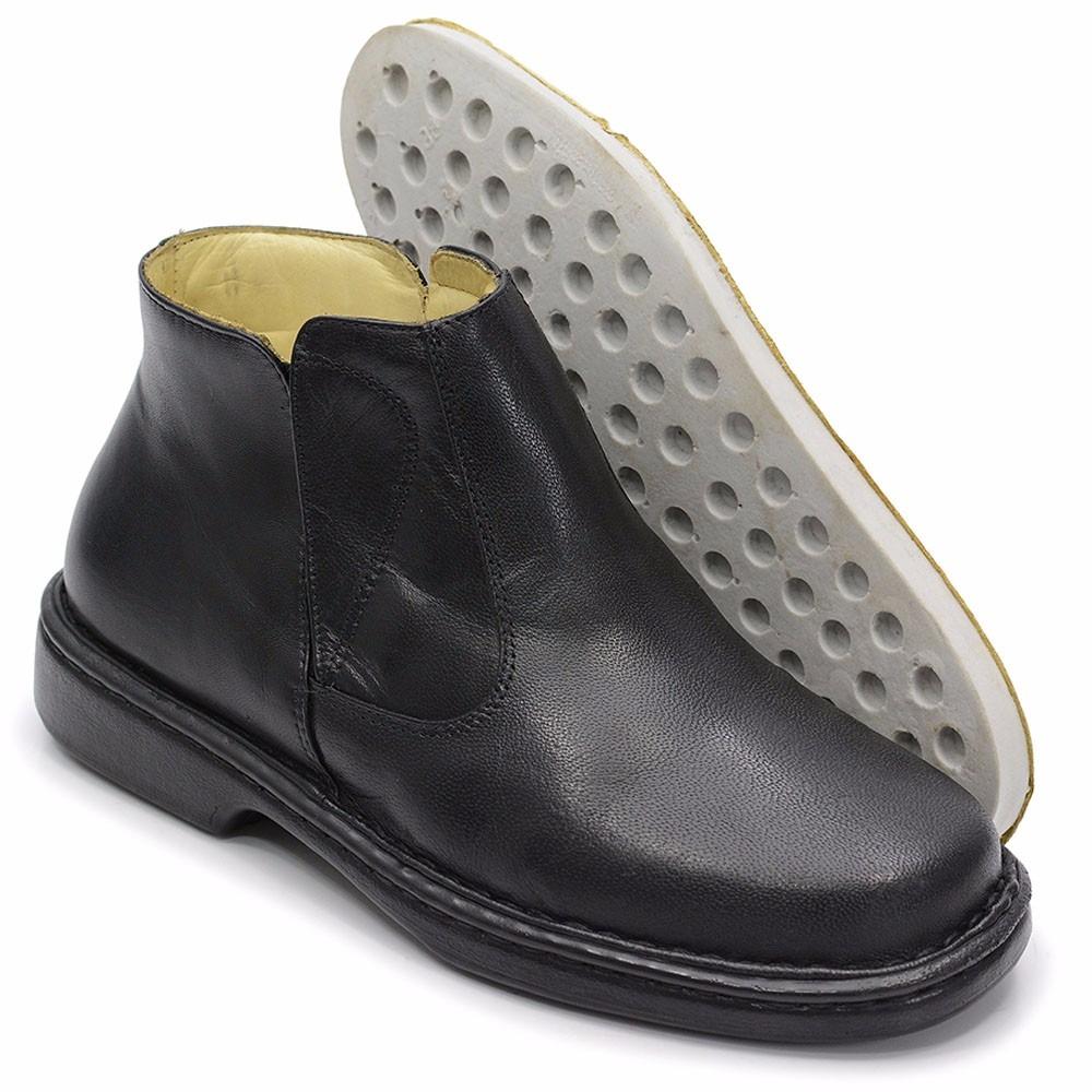 eab053d19 botina bota escrete masculino de couro legitimo franca-sp. Carregando zoom.