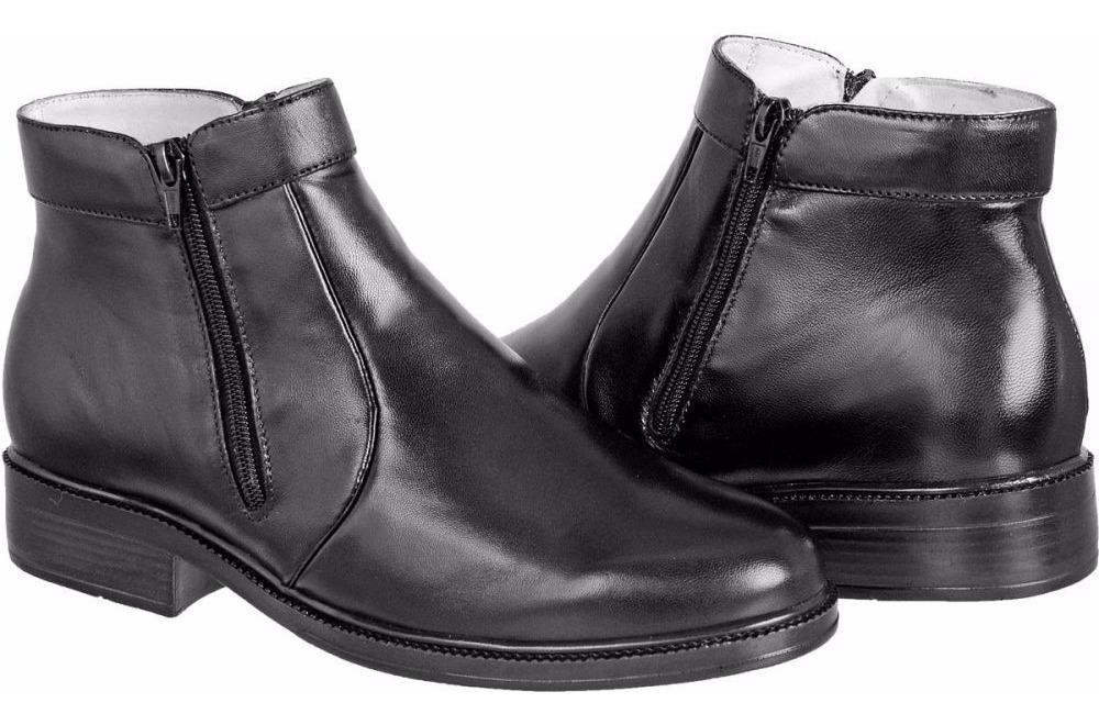 f94395bc5f botina bota masculina couro pelica sola borracha com zíper. Carregando zoom.