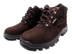 f2f7f2f8cb9c3 Bota Bracol Marrom Ca 27300 Masculino - Calçado de Segurança no Mercado  Livre Brasil