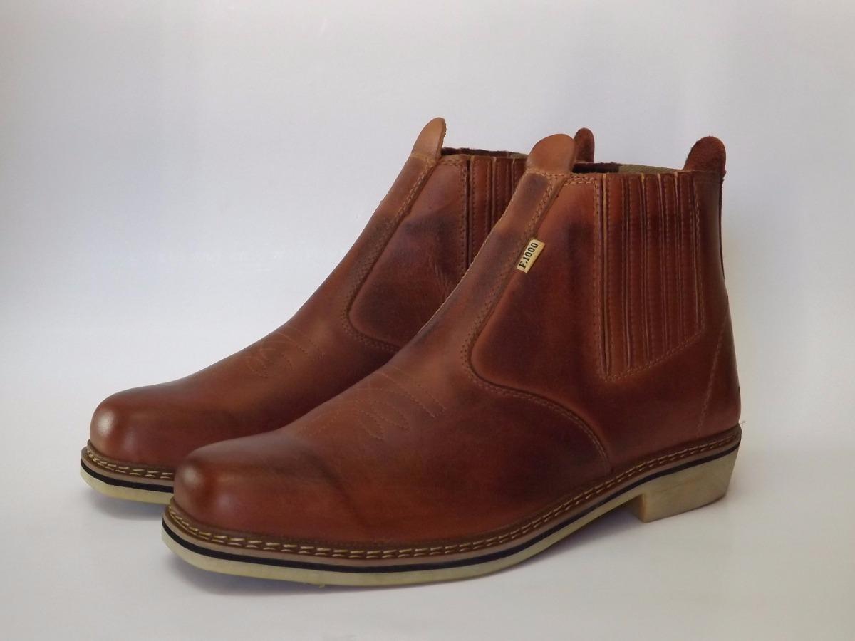 botina bota wrangler f1000 couro legítimo original country. Carregando zoom. fd5a083c8c8
