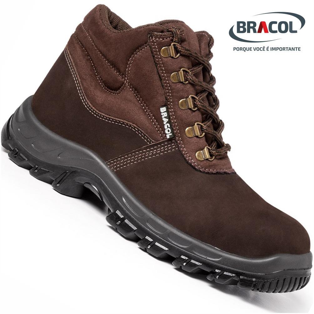 209bb4056f5 botina bracol® nobuck bota epi marrom cafe original. Carregando zoom.