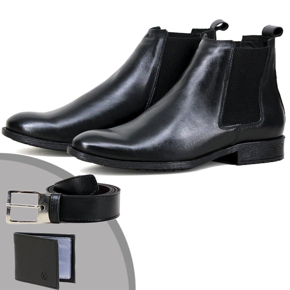 2bf733a98 botina chelsea boots kit classica franca - sp em couro. Carregando zoom.