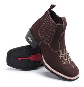 0f2de68c177fa1 Botinas Em Couro Nobuck Botas Parana Imbituva - Sapatos para ...
