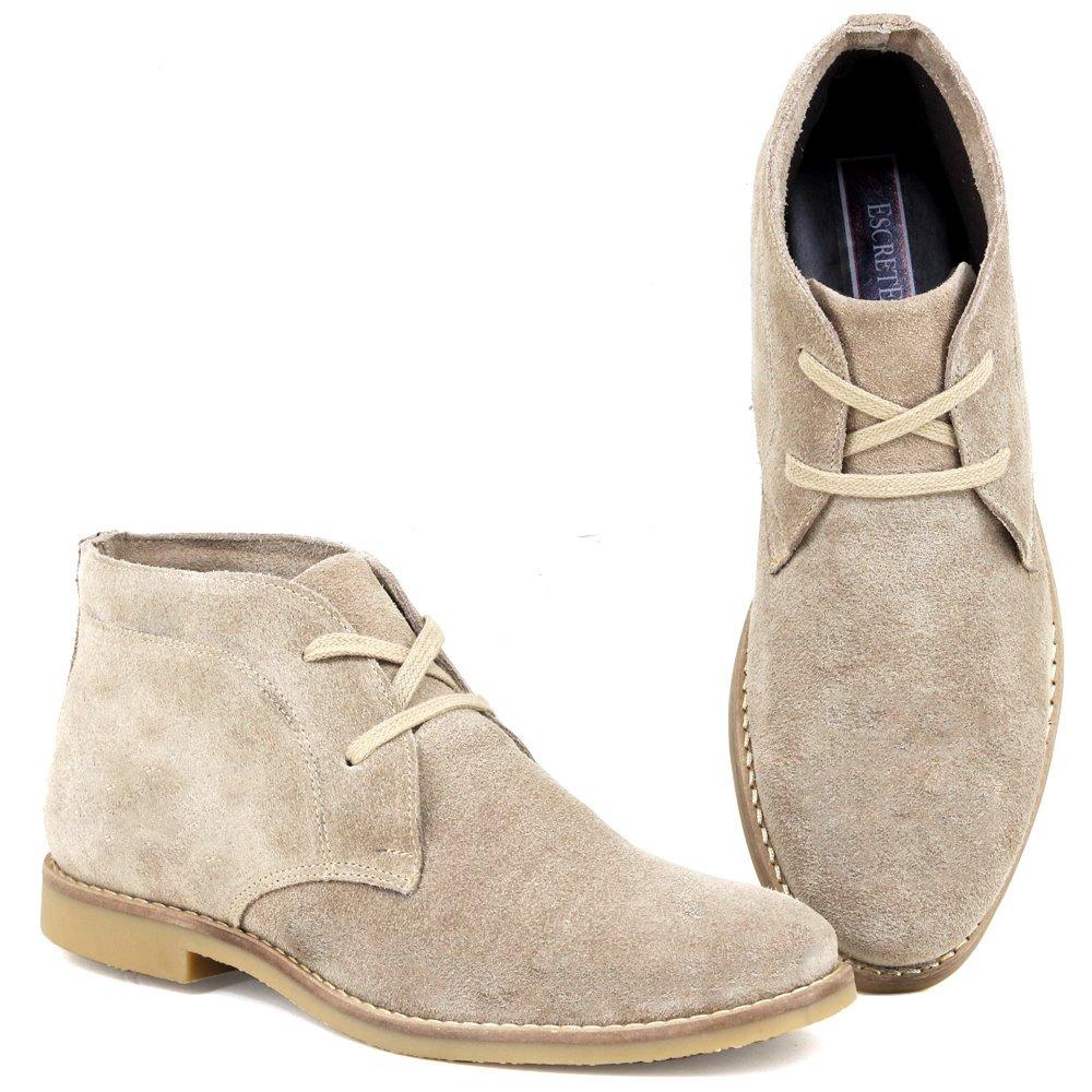 4569c7075 botina desert boots franca - sp couro camurça + brinde. Carregando zoom.