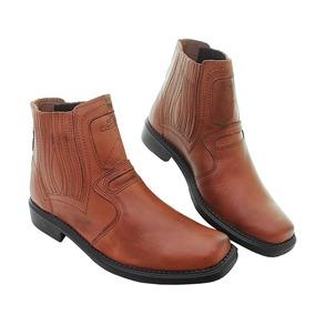 7e3a4de4 Botina Couro Solaminas - Calçados, Roupas e Bolsas no Mercado Livre Brasil