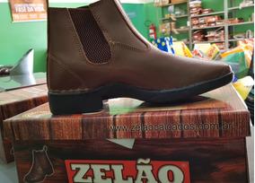 686ade64f Botina De Couro Zelão Masculino Botas - Sapatos no Mercado Livre Brasil