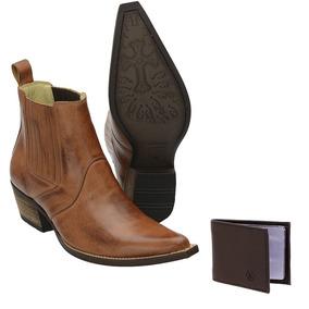 21e7c1be99 Botinas Zebu Bico Fino - Sapatos no Mercado Livre Brasil