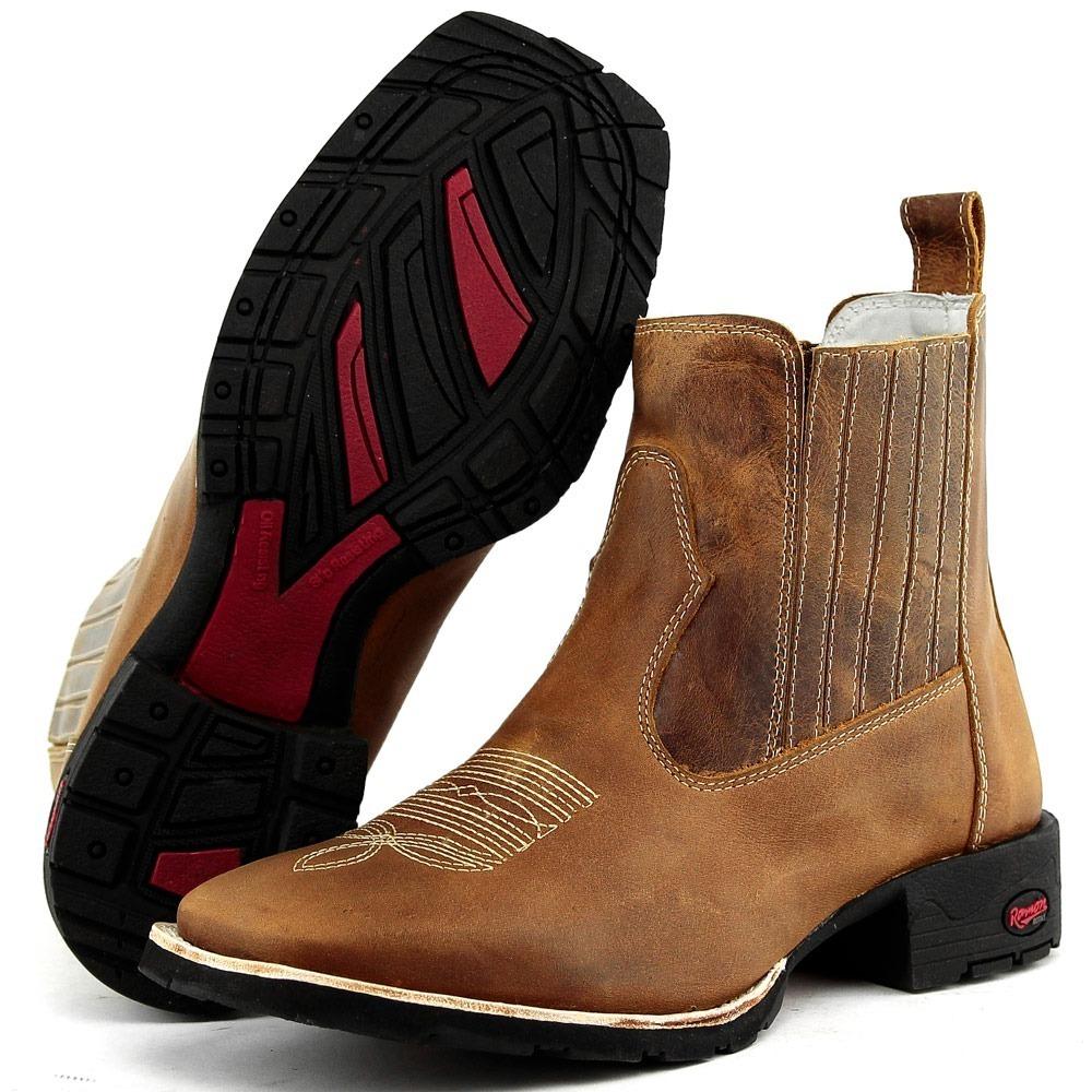 Carregando zoom. a46d283b60f botina masculina bota texana couro country  peão bordado cav. Carregando zoom. ae44e48ecd7