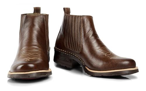 botina masculina country/ bota- capelli boots