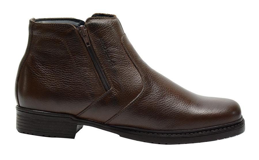 100d9e02459 botina masculina couro cano curto urbana boots escrete. Carregando zoom.