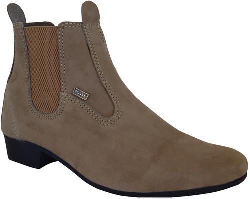 botina montaria bota vaquejada calçados em couro bu