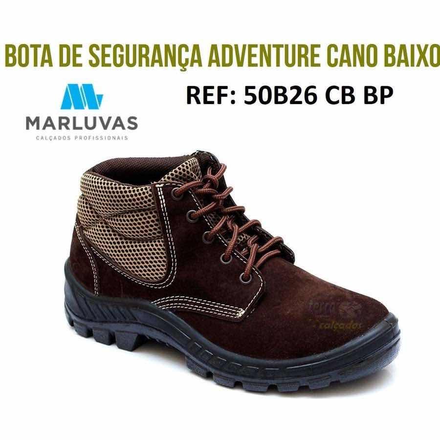 Botina Nobuck Café Bi Densidade Marluvas 50b26 - R  79,90 em Mercado ... 3d41563262