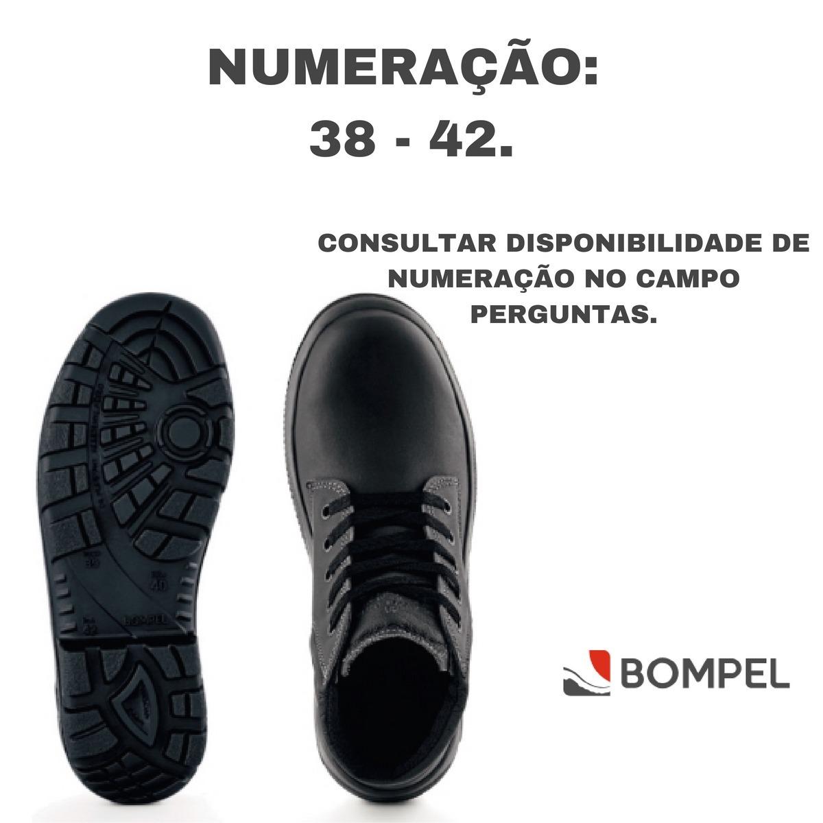 fefa22267ae6d Botina Ocupacional Convencional Sem Biqueira Bompel - R  520,99 em ...