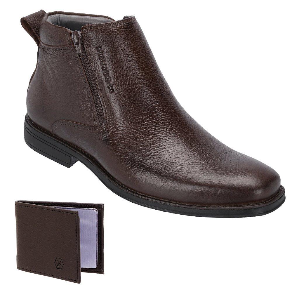 ac770fa99 botina peão masculina franca - sp em couro legitimo + brinde. Carregando  zoom.