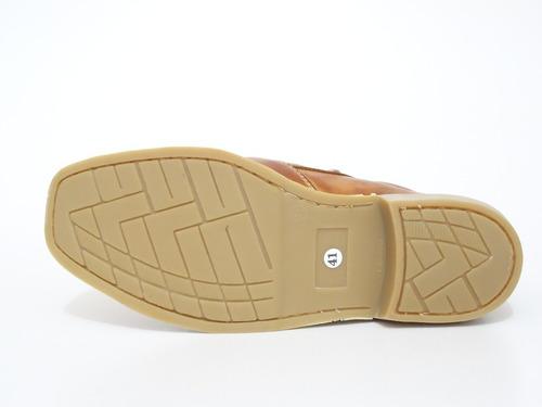 botina roceira masculina em couro látex  - loja sapatocia