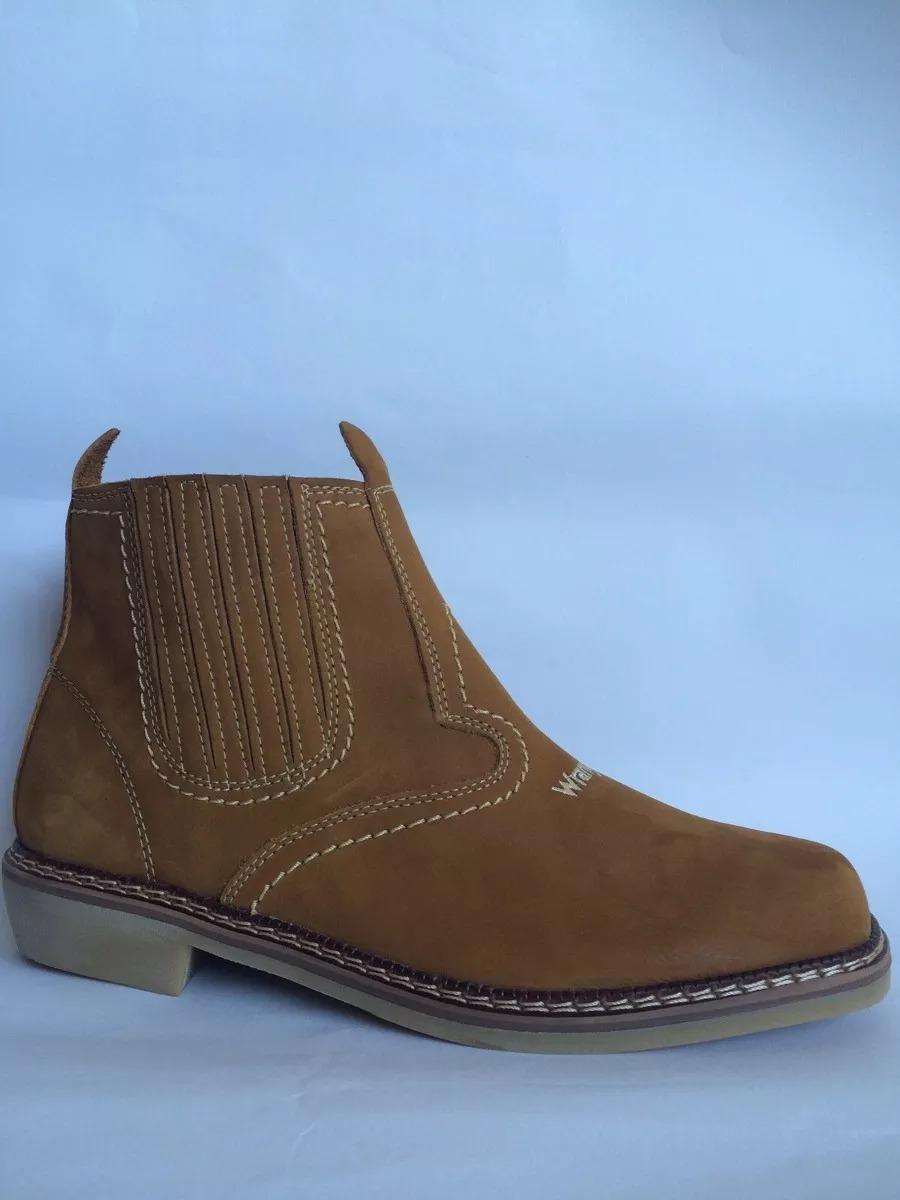 botina wrangler country rodeio bota 100% couro sola latex. Carregando zoom. afd8bdccf28