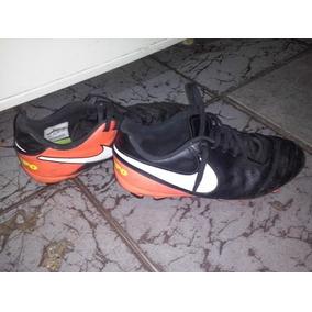 5056ed3d22fb4 Botines Nike Tiempo Usados Numero 36 En Buen Estado   900
