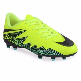 3852c1626415d Botines Nike Hypervenom Negros Y Amarillos - Botines en Mercado ...