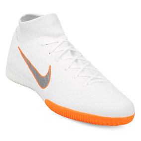 19eba7b0ed053 Botines Nike Botitas Mercurial Futsal - Botines para Adultos Blanco ...