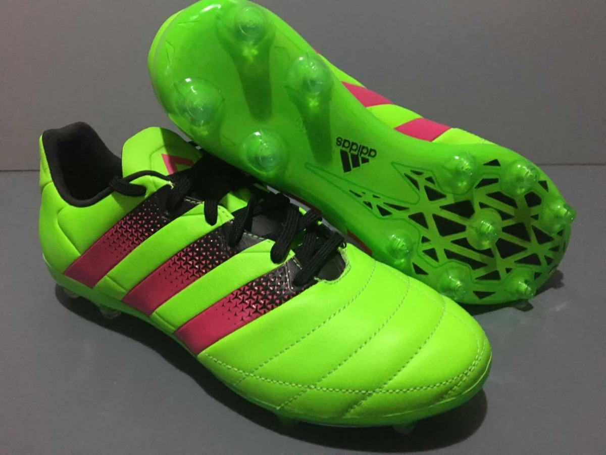 cheap for discount 61c23 89819 Botines adidas Ace 16.2 Leather