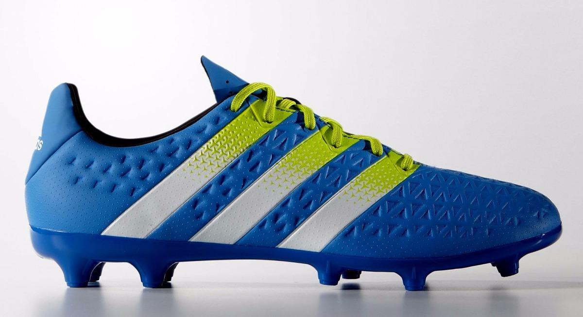 botines adidas ace 16.3 fg-ag blue white nuevo modelo. Cargando zoom. 3bbe7154ee235