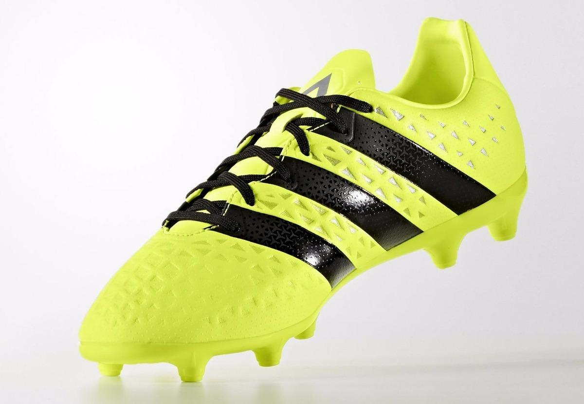 botines adidas ace 16.3 fg-ag yellow black nuevo modelo. Cargando zoom. 02bcd5127fc30