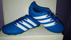 3804cad85 Botines Adidas Ace 16.4 Azules - Deportes y Fitness en Mercado Libre  Argentina