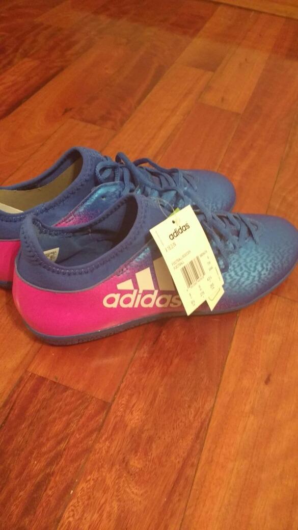 88ee39707015e botines adidas blue blast x 16.3 futsal. Cargando zoom.