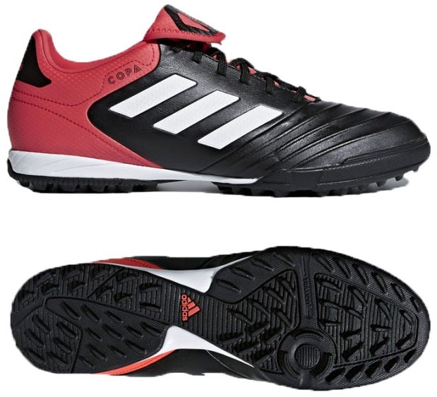 Botines adidas Copa Tango 18.3 Césped Artificial Negro C roj ... 7a486521fe768