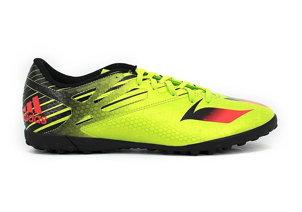buy online dea88 07f5e botines adidas messi 15.4 papi verde fluo deporfan. Cargando zoom.