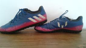 fedf5321d Botines Adidas F5 Estilo Cebra Messi