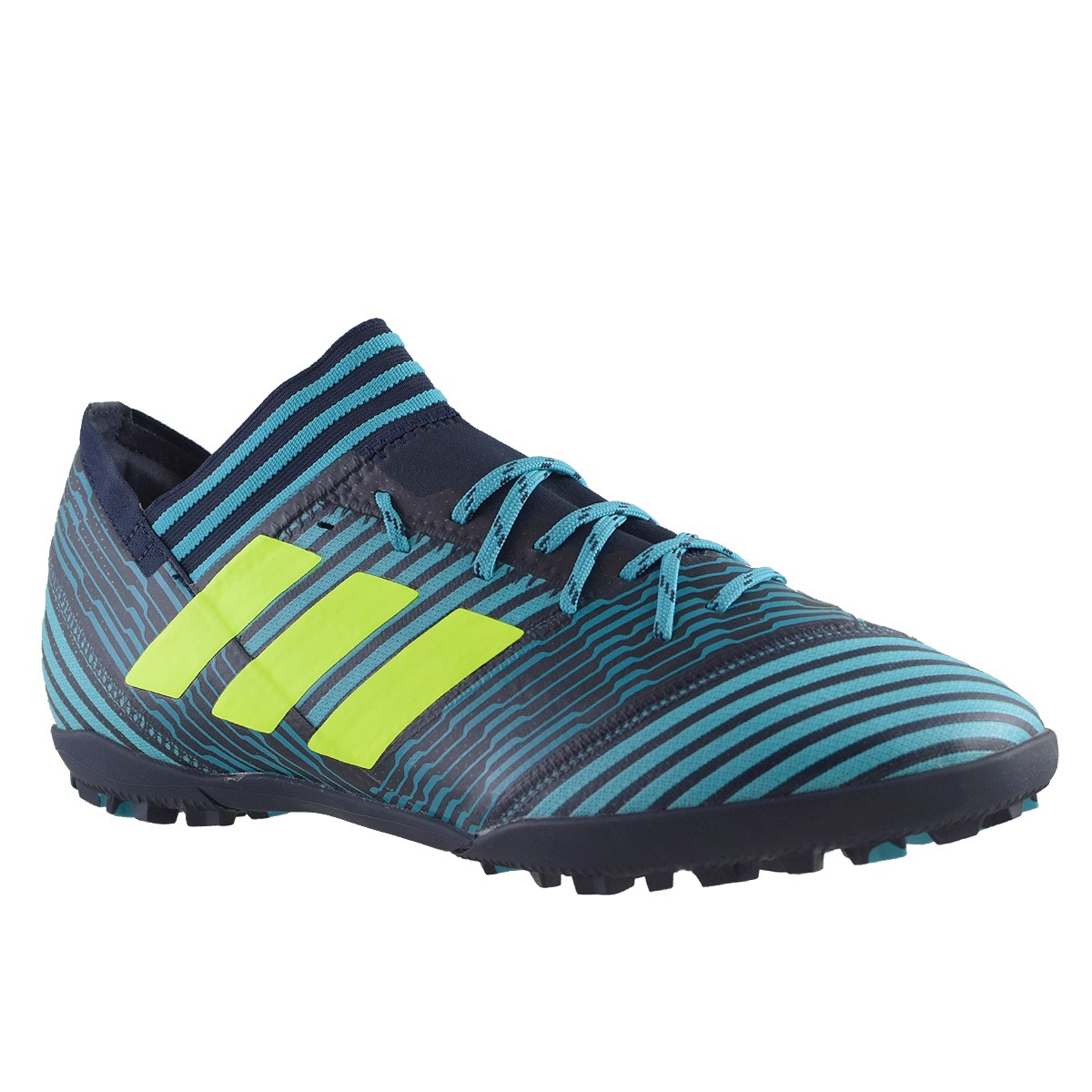 91d1e8ba38e74 Botines adidas Nemeziz Messi 17.3 Tf Hombre Negro azul -   2.100