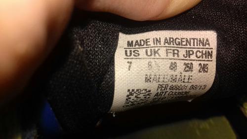 botines adidas nitrocharge 3.0 talle 36