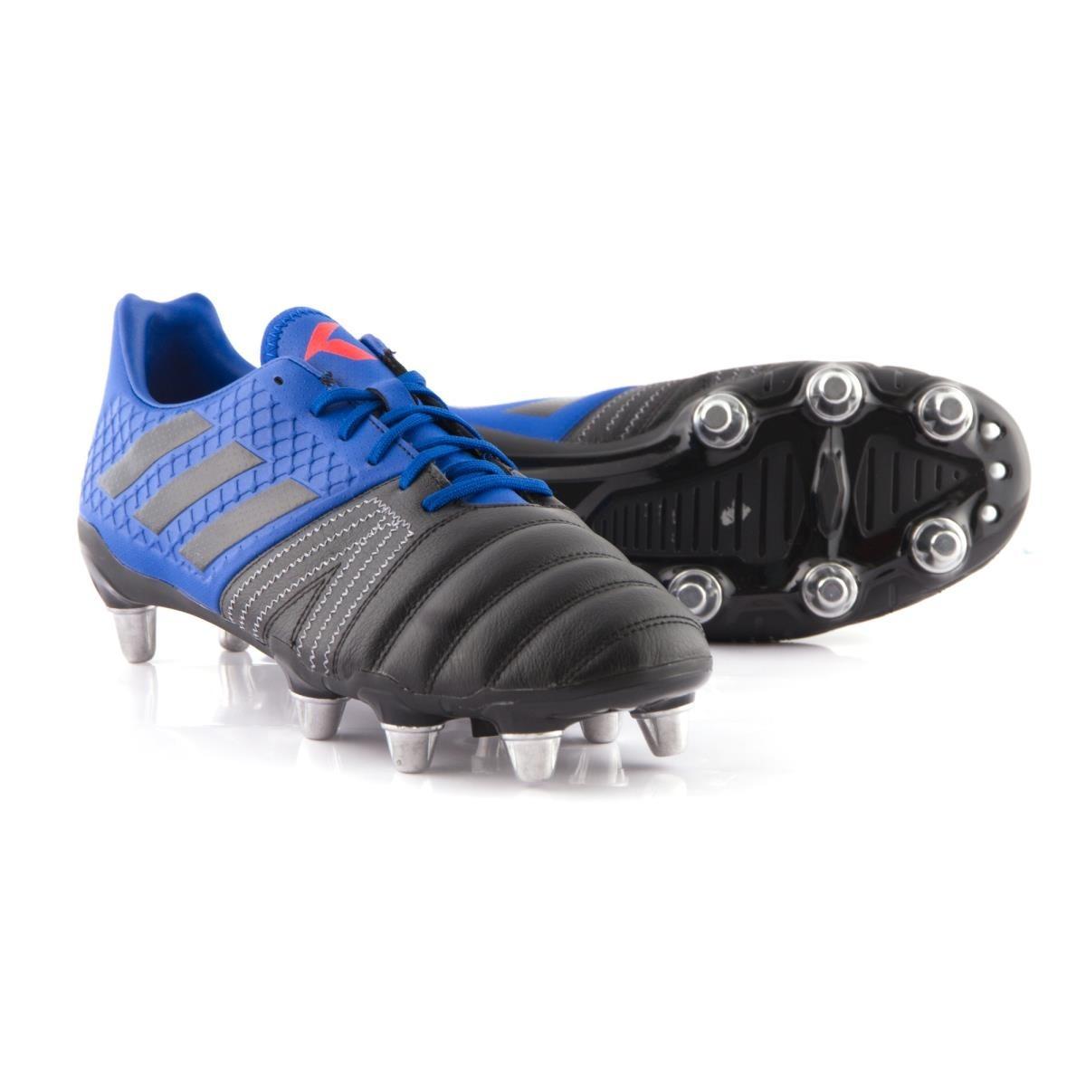 sombras de auténtico auténtico estilo máximo Botines adidas Rugby Kakari Talle Uk 14 Tapones Aluminio