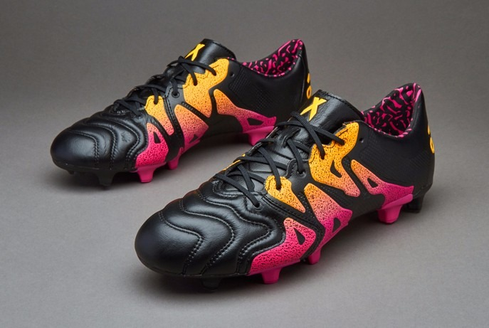 Botines adidas X 15.1 Fg ag Leather Cuero Profesionales -   3.499 61b6157cbde0f