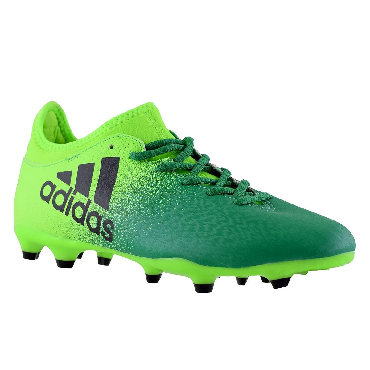 Botines adidas X 16.3 Suelo Firme Hombre Verde -   1.800 29f4e7a9b845b