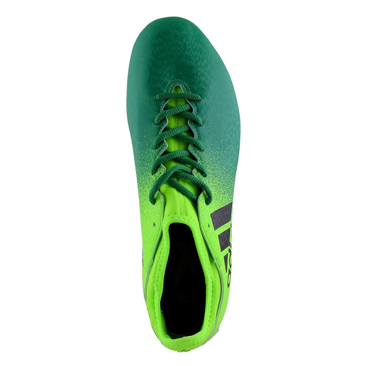 02fe98914eeb5 botines adidas x 16.3 suelo firme hombre verde. Cargando zoom.